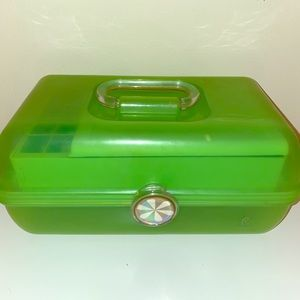 Green Makeup Caboodle